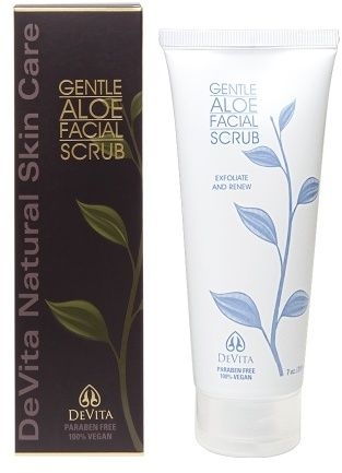 DeVita Gentle Aloe Facial Scrub