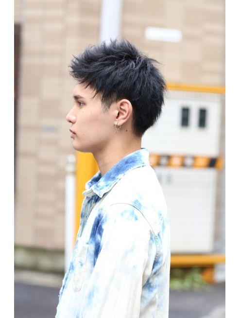 リップス 表参道店 Lipps ワンオクtaka風 アッパードモヒカン 髪型 ショート メンズ ヘアスタイリング スタイル