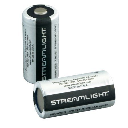 Streamlight 2 Pack Oem Original Cr123a 3v Lithium Battery 2 Pack 85175 Walmart Com Streamlight Streamlight Flashlight Lithium Battery