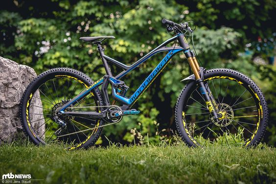 Mondraker Dune Carbon Bike Test in frame size XL