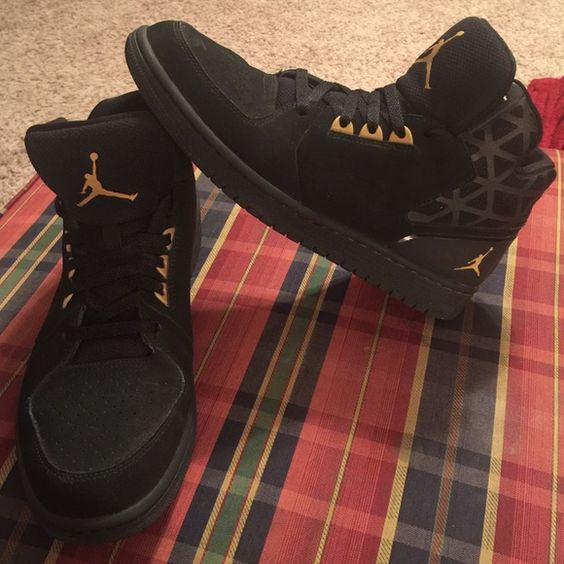 Jordan 1 Flight 3 Black Gold