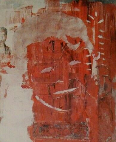 "Irak 4. ""Junio 2003"". Acrílico sobre lienzo. 85 x 61 cm. javi martínez"