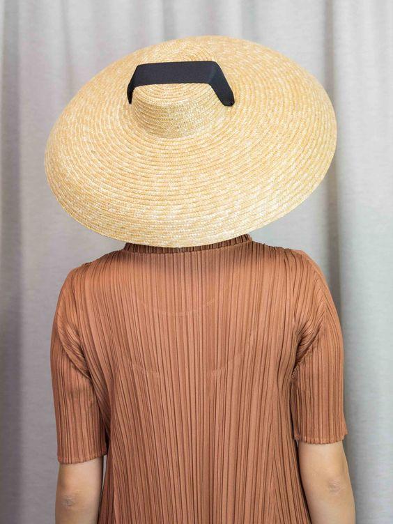 ELIURPI Campana Hat - Natural
