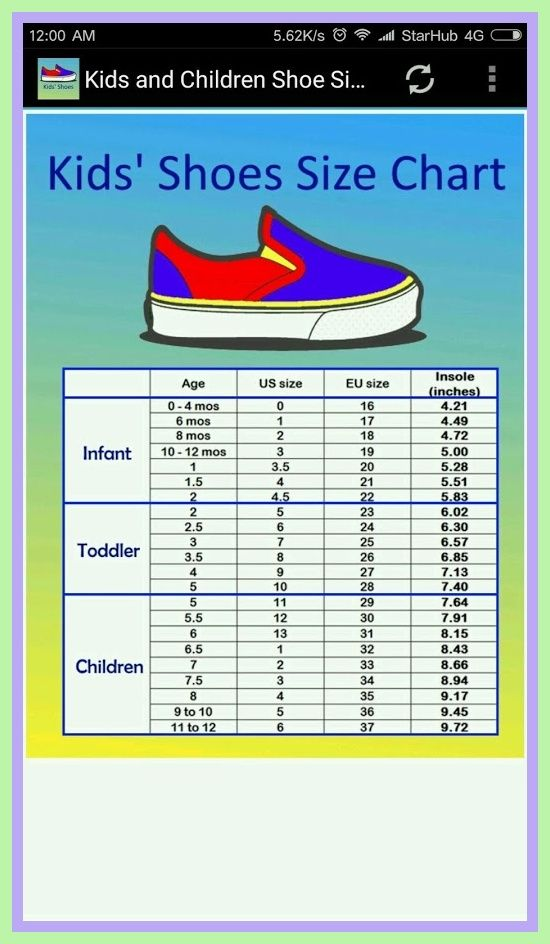 baby size shoes us