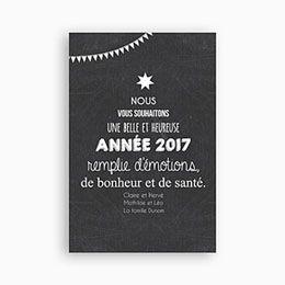 Carte De Voeux 2017 Arbre Voeux 0 Carte De Voeux