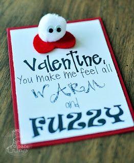 Warm & Fuzzy Valentine!