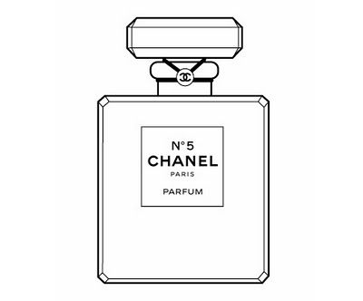 Chanel Perfume Bottle Clipart Chanel Lusting