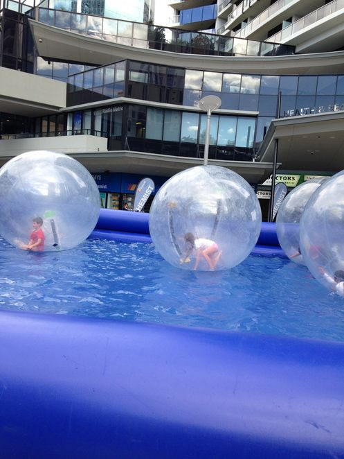 Bubble Trouble at Circle on Cavill.
