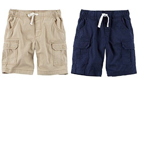 Carters Boys 2-Pack Pull-on Woven Short Cargo Shorts