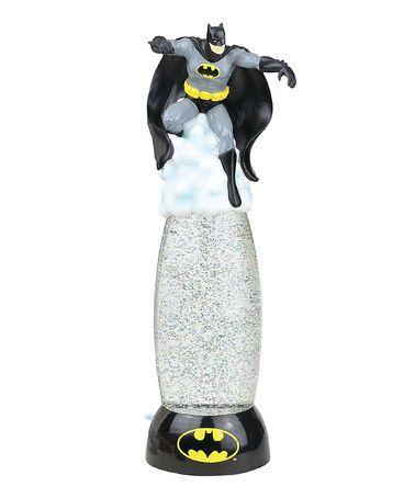 This Batman Glitter Globe Lamp by Batman is perfect! #zulilyfinds