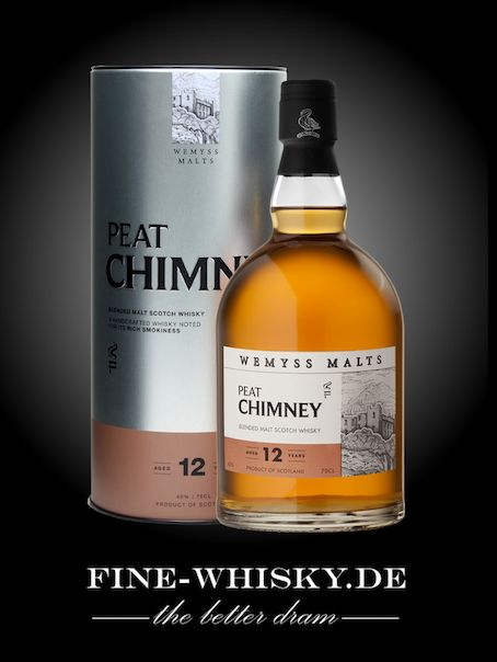 Peat Chimney 12 yo Wemyss