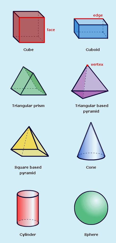 ... 3d shapes worksheet education pinterest 3d shapes : Nets Of 3d Shapes