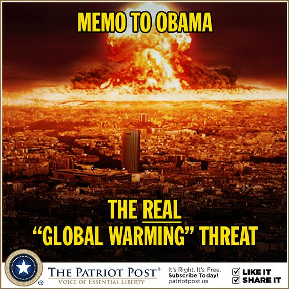 Global warming a threat?