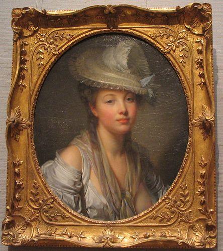 OneKingsCourt.com    The White Hat - Jean-Baptiste Greuze, 1780 by rosewithoutathorn84