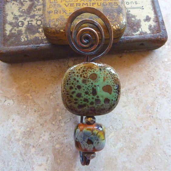 Spiral-top fibula pin