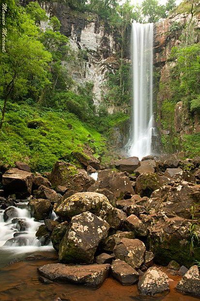 El Parque Provincial Salto encantado, Valle del Arroyo Cuñá Pirú, Misiones, AR