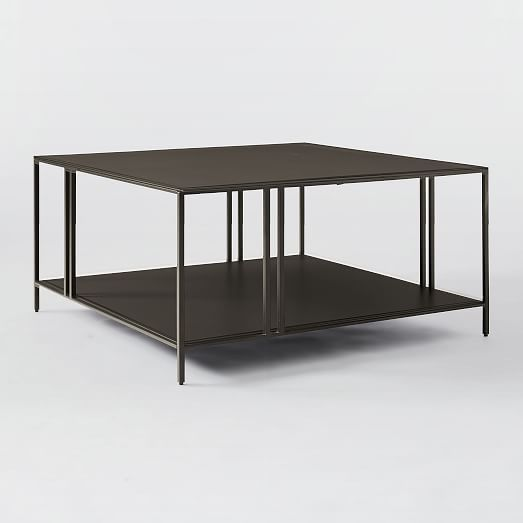 Amigo Modern Octahedron Coffee Table In 2020 Pedestal Coffee