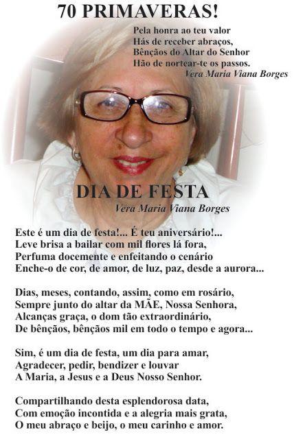 Vera Maria Viana Borges: DIA DE FESTA  ( Página 58 do meu livro TRILHAS POÉ...