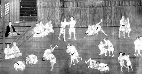 """""""In feudal times in Japan, there were various military arts and exercises which the samurai classes were trained and fitted for their special form of warfare. Amongst these was the art of jujutsu, from which the present judo has sprung up. The word jujutsu may be translated freely as 'the art of gaining victory by yielding or pliancy.'"""" - Jigoro Kano"""