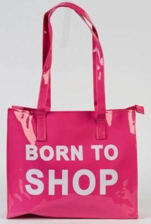 """ Born To Shop "" Pink!"