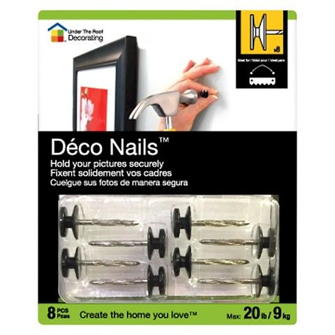 Under the Roof Large Deco Nail Small Pack