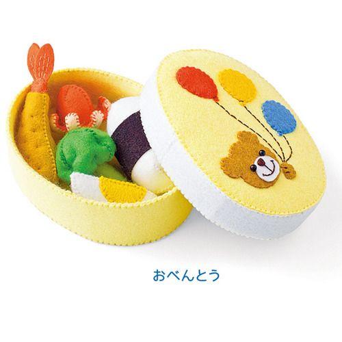 親子でいろんなごっこ遊びを楽しむ フェルトおもちゃの会(6回限定コレクション)   フェリシモ
