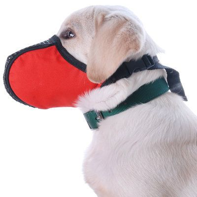 "Check out ""Jeffers Pet : Fabric Basket Muzzle "" from Jeffers Pet"