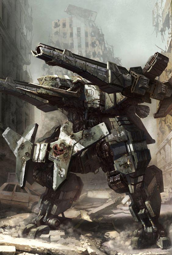 Cool Sci-Fi Machines, Walker. #robot #machines [<a href=