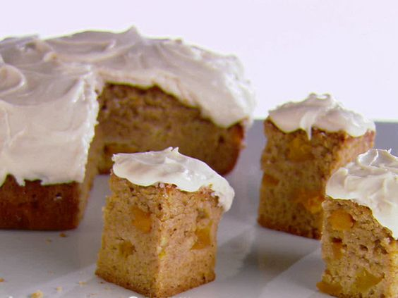 Peach cake recipes with cream cheese