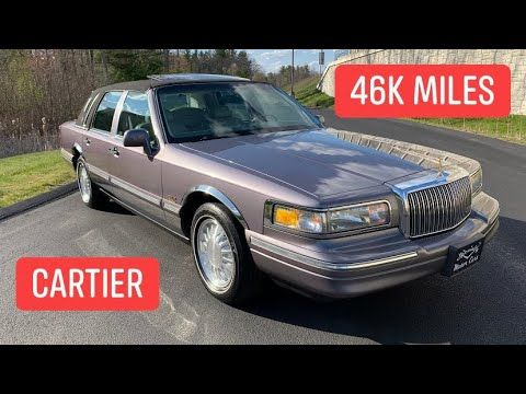 1995 Lincoln Town Car Cartier 46k Miles For Sale By Specialty Motor Cars Lincoln Town Car Motor Car Car Low