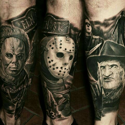 Michael Jason Freddy Forearm Tattoo Freddy Krueger Tattoo