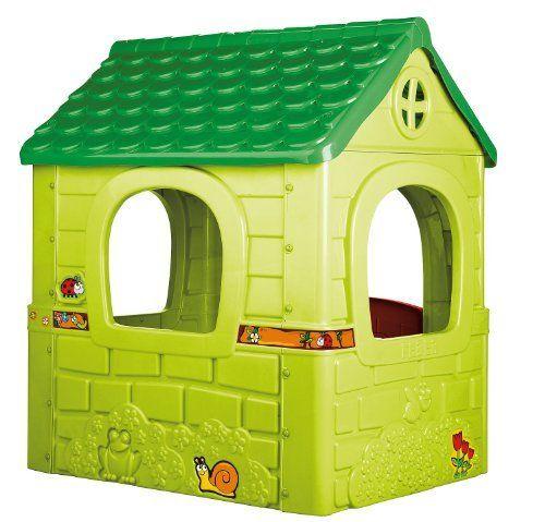 Feber 800008570 - Traumhaus - Großes Kunststoffspielhaus von Feber, 109,-