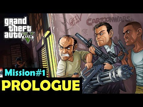Prologue Offline Story Mode Mission 1 Gta 5 Youtube Gta Grand Theft Auto Gta 5