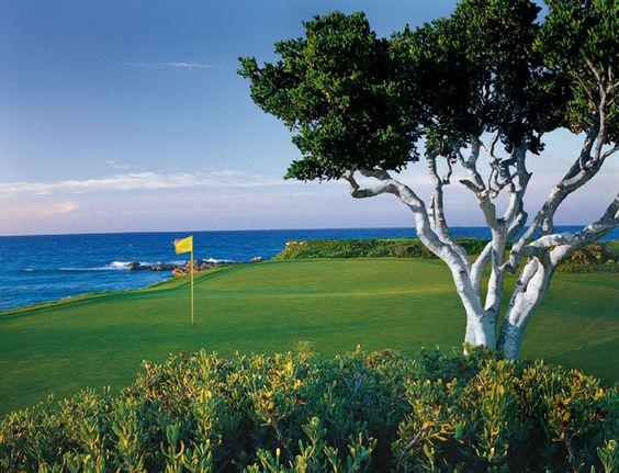 Quieres aprender a jugar Golf? Que tal esta vista de inspiración en Exuma! #Bahamas #NoLoHasVistoTodo