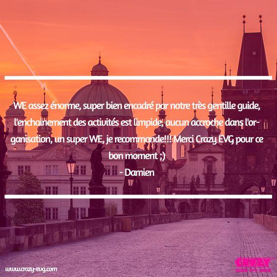 Témoignage d'un #EVG à #Prague !