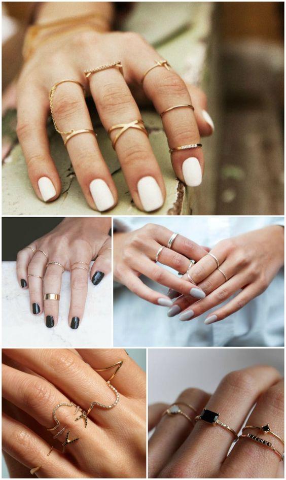 Inspiração - aneis delicados https://fashionchique.pt/