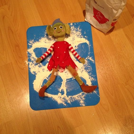 Buddy wanted to try and be an angel, think he should stick at being an elf #elfonashelf