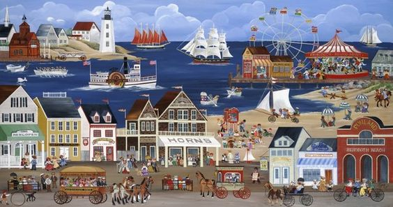 Carol Dyer folk art