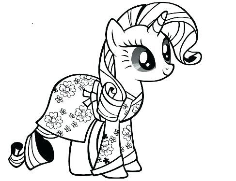 Rarity Coloring Pages My Little Pony Coloring Pages Rainbow Dash
