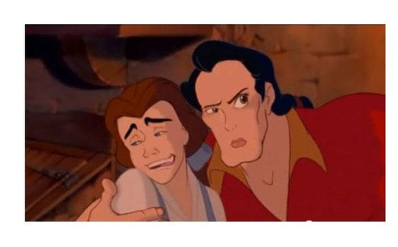 Beauty and the beast face swap