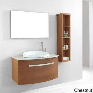 Virtu USA 40-inch Anabelle Single Sink Bathroom Vanity Set | Overstock.com Shopping - The Best Deals on Bathroom Vanities