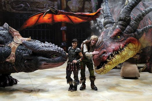 Dreamworks How to Train Your Dragon Live.