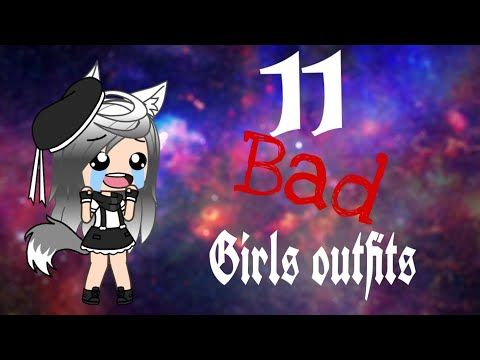 Gacha Life Bad Girl Outfits Youtube Bad Girl Outfits Cute Manga Girl Cute Cartoon Drawings