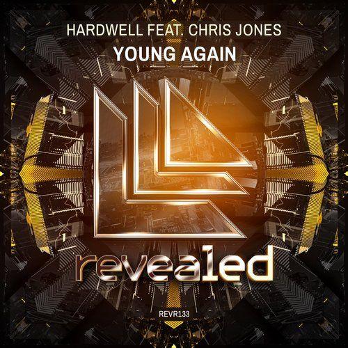 Hardwell, Chris Jones – Young Again (single cover art)