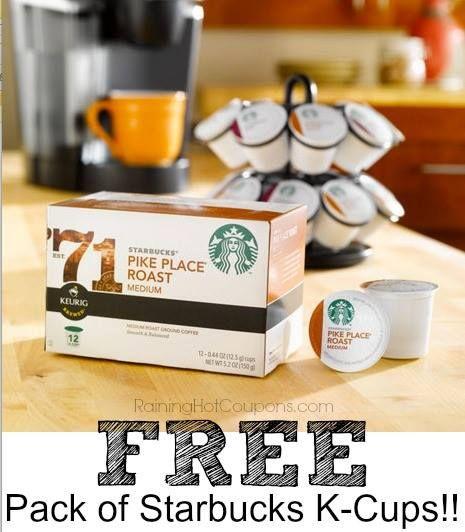 Starbucks k cups printable coupons