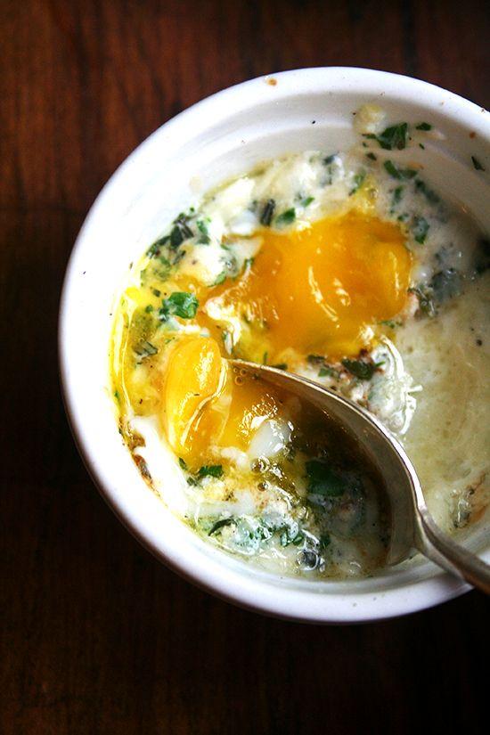 Baked Eggs Benedict Recipe — Dishmaps