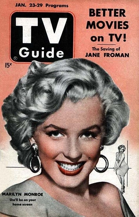Marilyn Monroe on TV Guide