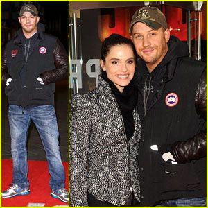 Canada Goose vest online authentic - Tom Hardy: 'Jack Reacher' Premiere wearing a Canada Goose jacket ...