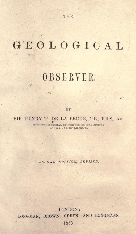 The geological observer (1853)