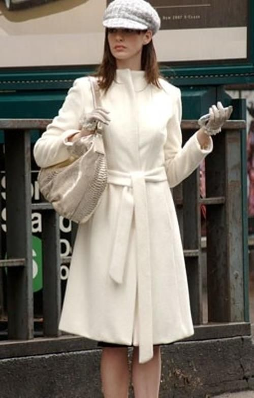 favorite coat in the world from devil wears prada